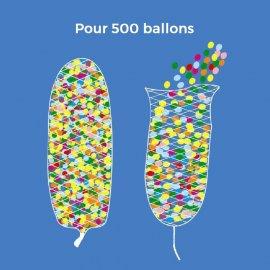 Filet pour Lâcher de 500 ballons