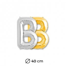 Ballon Lettra B en Mylar 40cm
