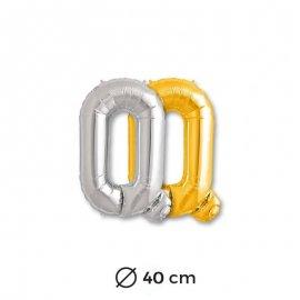 Ballon Lettre Q en Mylar 40cm