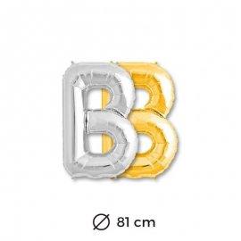 Ballon Lettre B en Mylar 81cm