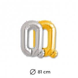 Ballon Lettre Q en Mylar 81cm