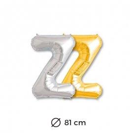 Ballon Lettre Z en Mylar 81cm