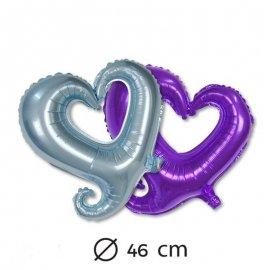 Ballon Forme Coeur Mylar 46 cm