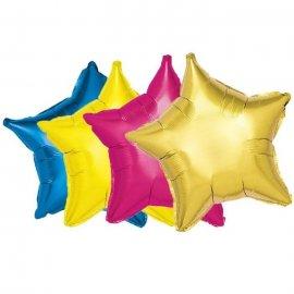 Ballon Forme Étoile Mylar 46 cm