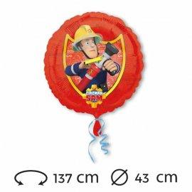 Ballon de Sam le Pompier 43 cm
