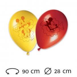 8 Globos 28 cm Mickey Mouse