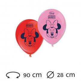 8 Globos 28 cm Minnie Mouse