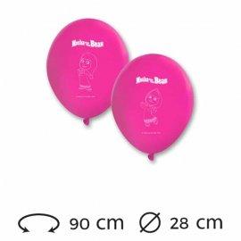 8 Ballons de 28 cm Masha et Michka