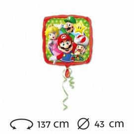 Ballon Mylar Super Mario 43 cm