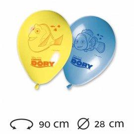 8 Ballons 28 cm Le Monde de Dory