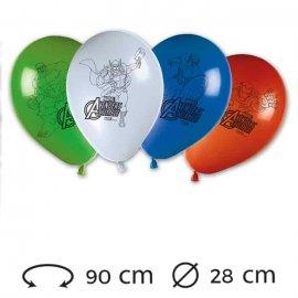 8 Ballons 28 cm Avengers
