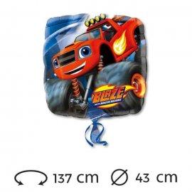 Ballon Blaze Mylar Carré 43 cm