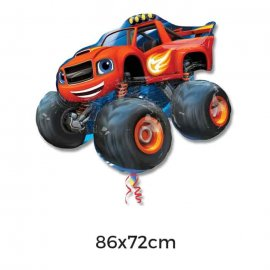 Ballon Mylar Blaze Voiture 86 x 71