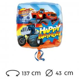 Ballon Happy Birthday Blaze Mylar 43 cm