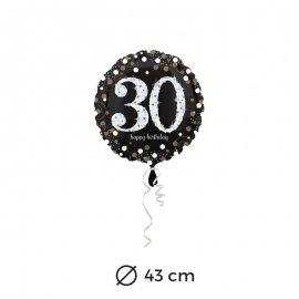 Ballon Chic 30 ans 43 cm