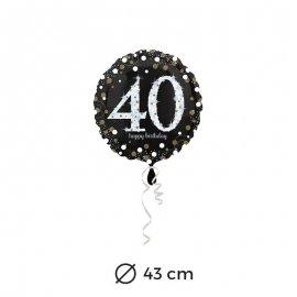 Ballon Chic 40 ans 43 cm