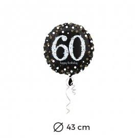 Ballon Chic 60 ans 43 cm
