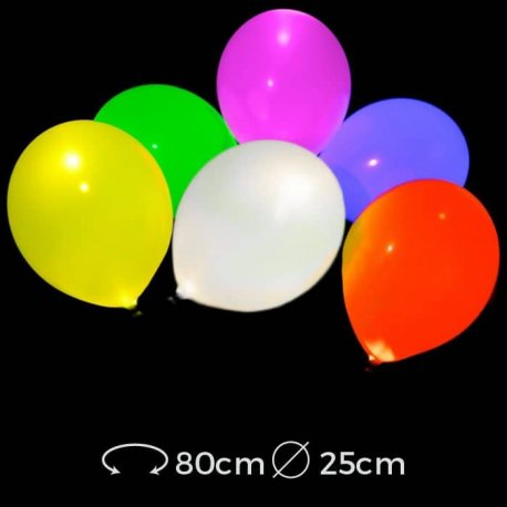 Ballons Lumineux Led 25 cm