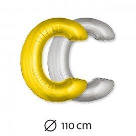 Ballon Lettre C Mylar 110 cm