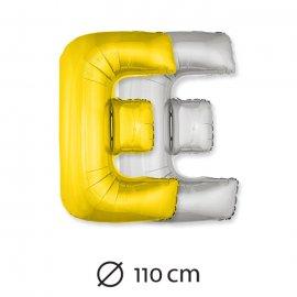 Ballon Lettre E Mylar 110 cm
