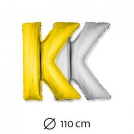 Ballon Lettre K Mylar 110 cm
