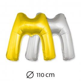 Ballon Lettre M Mylar 110 cm