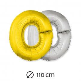 Ballon Lettre O Mylar 110 cm