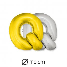 Ballon Lettre Q Mylar 110 cm
