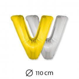 Ballon Lettre V Mylar 110 cm
