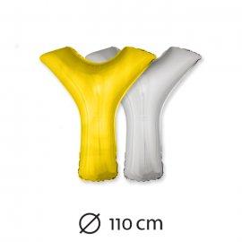 Ballon Lettre Y Mylar 110 cm