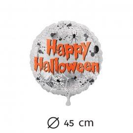 Ballon Araignées Happy Halloween Mylar