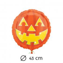 Ballon Mylar Citrouille