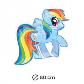Ballon Rainbow Dash 80 cm