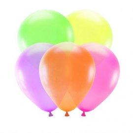 5 Ballons Néon