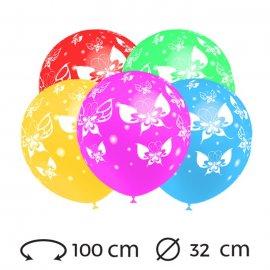 Ballons Papillon Ronds 32 cm