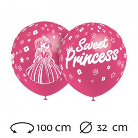 Ballons Sweet Princess 32 cm