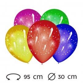 Ballons Feu d'Artifice 30 cm