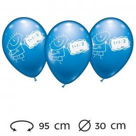 Ballons Maths pour Garçons 30 cm