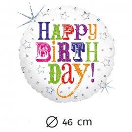 Ballons Aluminium pour Birthday 46 cm