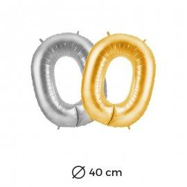 Ballon 0 Mylar 40 cm