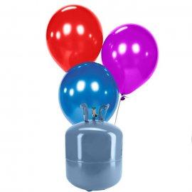 Bonbonne Helium Petite avec 30 ballons nacrés