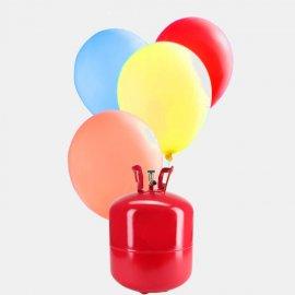 Bouteille Helium Grande avec 50 ballons de Baudruche