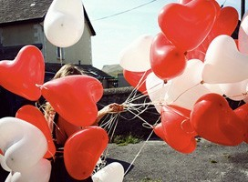 Ballons Coeurs