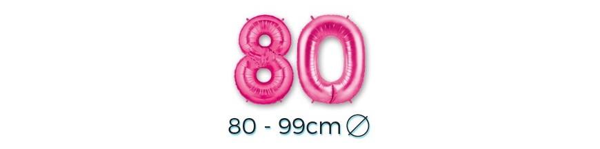 Chiffres 80 - 99 cm