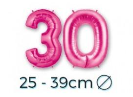 Chiffres 25 - 39 cm