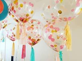 Ballons Confettis