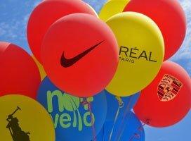 Ballons avec Logo