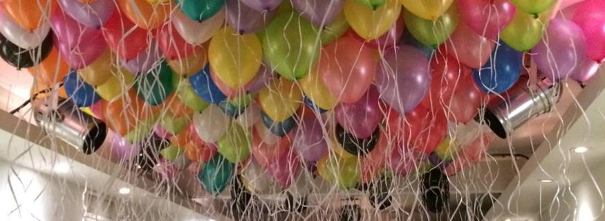 H lium pour gonfler les ballons - Faire tenir des ballons en l air sans helium ...